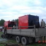 Отгрузка котельного оборудования