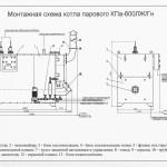 Монтажная схема КП-600