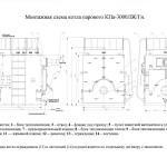 Монтажная схема на котел КП-3000