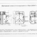 Монтажная схема котла КВа-0.8