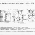Монтажная схема котла КВр-0.8